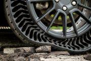 Xe GM sắp dùng lốp không hơi